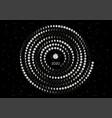 moon calendar 2020 southern hemisphere black vector image