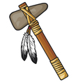 Native american tomahawk vector | Price: 3 Credits (USD $3)