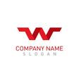 W red logo