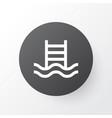 swimming pool icon symbol premium quality vector image