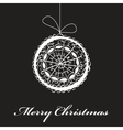 abstract christmas fantasy card vector image vector image