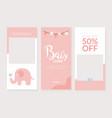 baby store banner design template shop kids
