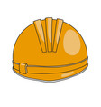 construction helmet icon vector image vector image