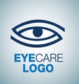 EYE CARE LOGO 3 vector image vector image