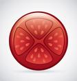 tomato design vector image vector image