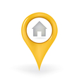 Home Location vector image