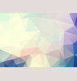abstract soft blue pink triangles background vector image vector image