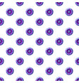 blue and purple sweet lollipop candie pattern vector image vector image