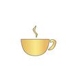 Coffee computer symbol vector image vector image
