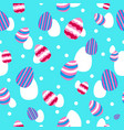 easter and spring wallpaper seamless pattern vector image vector image