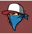 Man with bandana vector | Price: 1 Credit (USD $1)