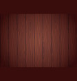 redwood texture wenge wood background vector image