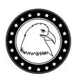 usa emblematic seal design vector image vector image