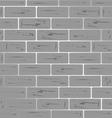 brick wall grey shiny vector image