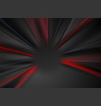 abstract dark red and black blurred beams vector image