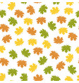 bright autumn background vector image vector image