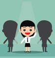 business recruitment hiring concept vector image
