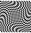 checkered pattern with spiral twirl swirl vector image vector image
