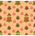 christmas pattern 4 vector image