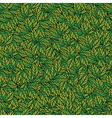 Leaves texture seamless pattern vector image vector image
