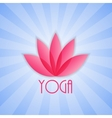 Lotus Flower Sign for Wellness Spa and Yoga