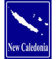 New Caledonia vector image