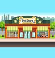 pet store vector image vector image