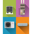 air condition systems vector image vector image