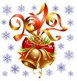 Christmas and New Year 2017 decoration set vector image vector image