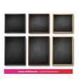 collection menu boards vector image vector image