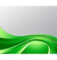green liquid background vector image