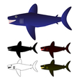 Set of sharks vector | Price: 1 Credit (USD $1)