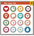 Web and interface icons collection vector image vector image