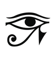 Eye of Horus icon simple style vector image vector image