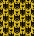 Heraldic background seamless vector image vector image