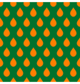 Orange Green Water Drops Background