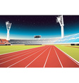 Sports stadium vector image vector image
