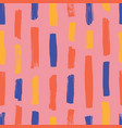 abstract seamless pattern with colorful vertical vector image vector image
