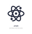 atom icon on white background simple element from vector image vector image