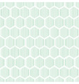 blue geometrical honeycomb seamless pattern vector image vector image