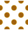 cookies pattern flat vector image vector image