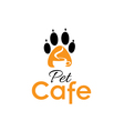pet cafe vector image vector image