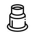 watch repair magnifier tool icon outline vector image vector image