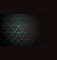 Abstract background of intersecting triangles
