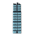 business or residential building architecture vector image vector image
