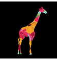 Giraffe ilustration vector image