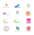 Logo Design Collection vector image vector image