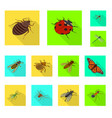 nature and wildlife icon vector image vector image