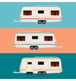 set trailers vector image