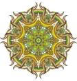 Abstract color circular mandala vector image vector image
